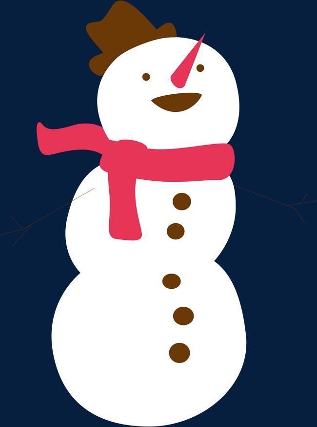 650x874 White Snowman, Yeti Yeti, Cute Snowman, Decorative Hat Png Image