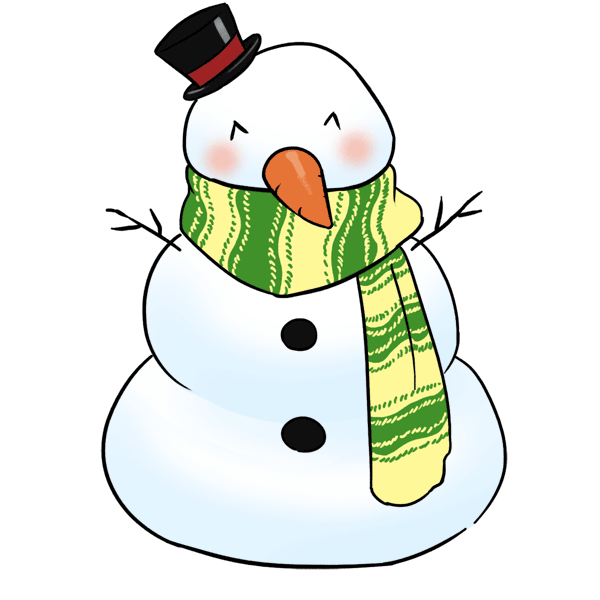 600x600 Gif Snowman Images This Cute Snowman Clip Art It's The Most