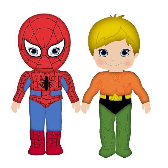 570x570 Cute Spiderman Clipart