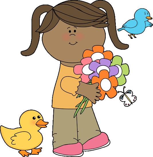 534x550 Cute Spring Clip Art Spring Friends Clip Art Image
