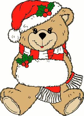 279x384 Christmas Animals Clipart Cute Digital