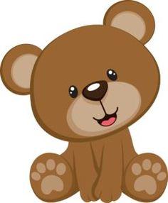 236x286 Cute Baby Girl Clip Art Cute Teddy Bear Vector Illustration 02