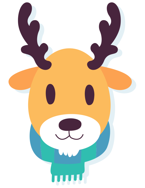 612x792 December Design And Winter Animal Freebie!