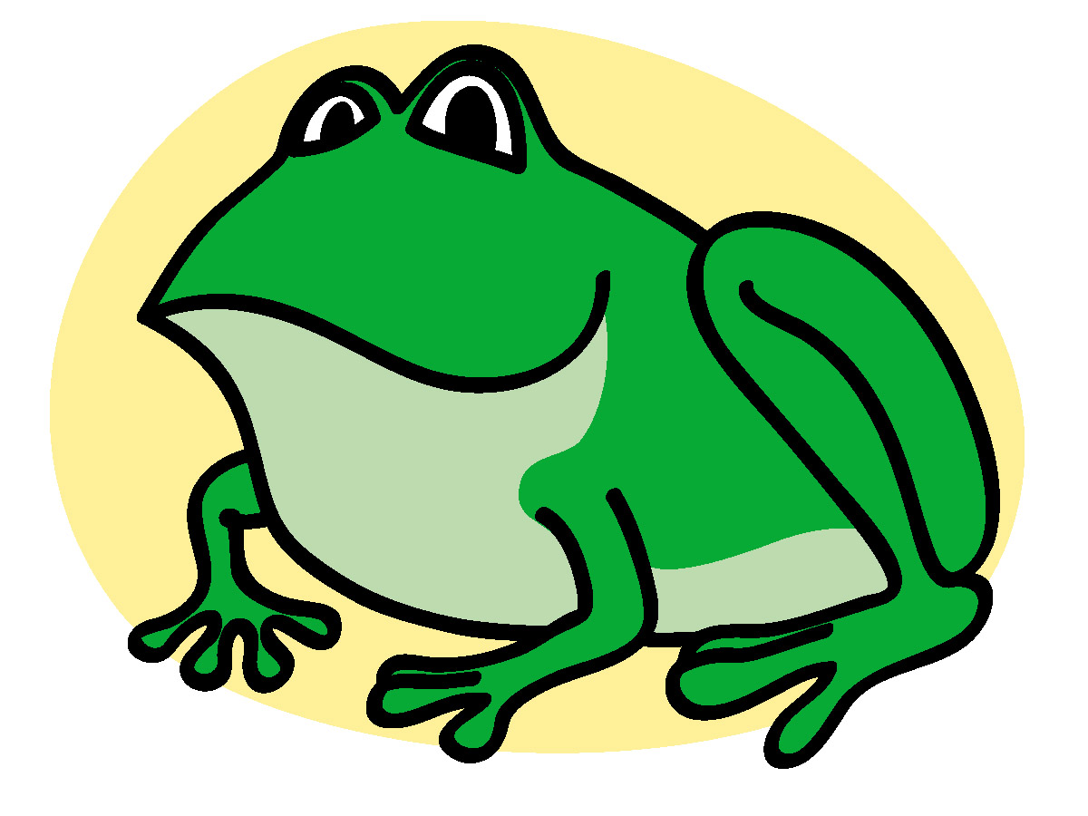 1200x900 Image Of Cute Frog Clipart