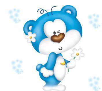 353x315 Cute Blue Things Blue Bear Everything Blue Blue