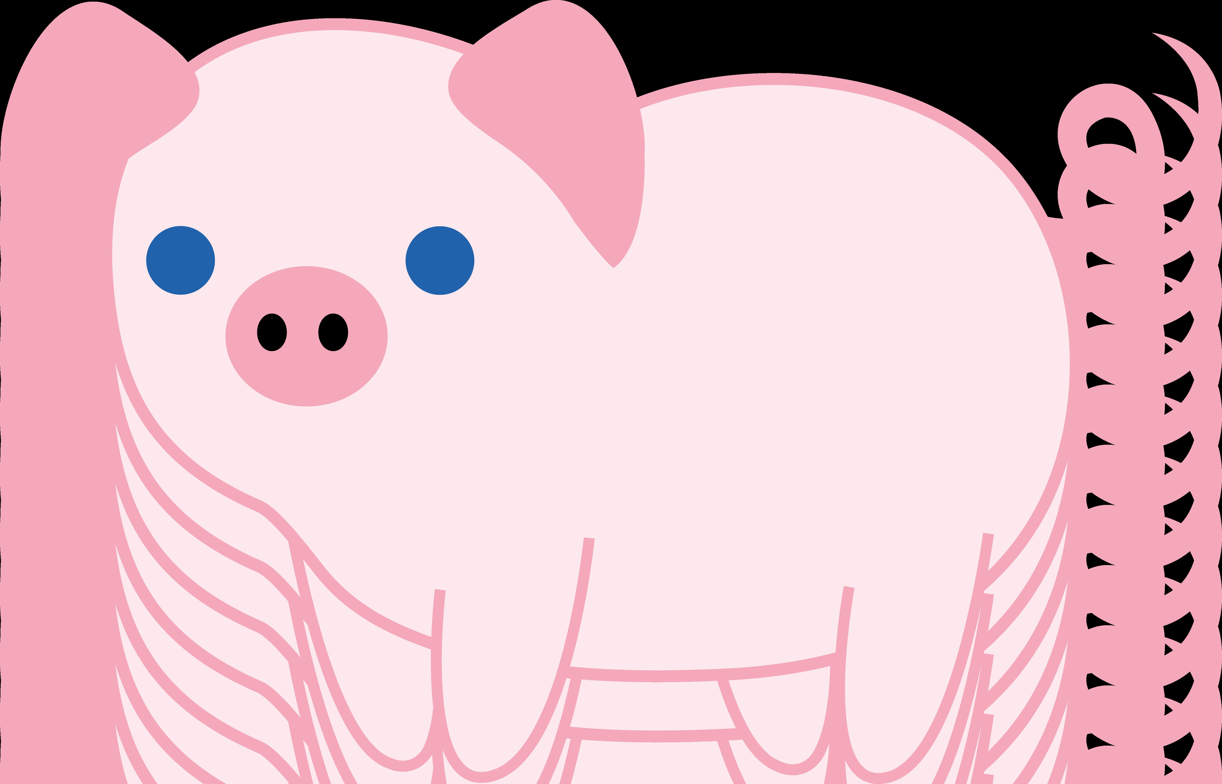 5154x3309 Cute Pink Piglet
