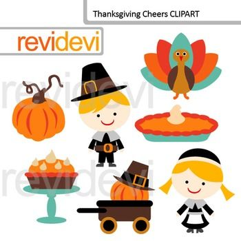 Cute Turkey Clipart