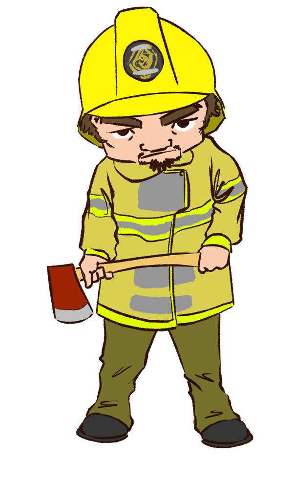 600x992 Fireman Cute Firefighter Clipart Free Clipart Images Image