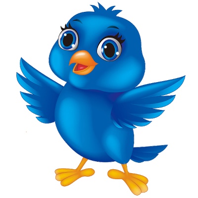 400x400 Nice Looking Bird Clipart Panda Free Images Black And White