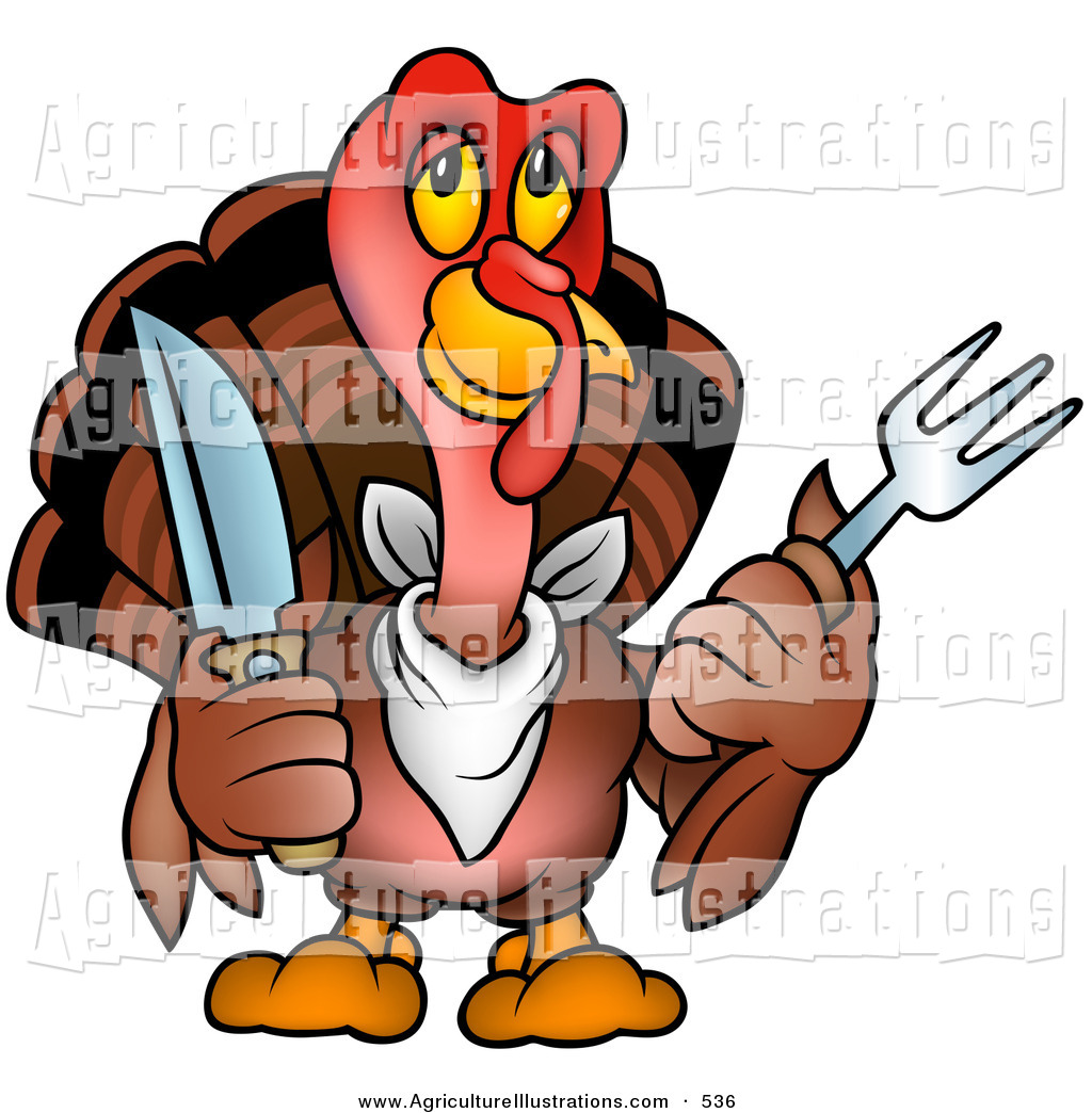 1024x1044 Agriculture Clipart Of A Cute Brown Thanksgiving Turkey Bird