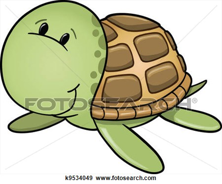 450x374 Cute Turtle Black And White Clipart
