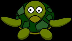300x171 Cute Turtle Clip Art