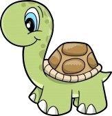 163x169 Free Cute Clip Art Cute Safari Turtle Vector Illustration