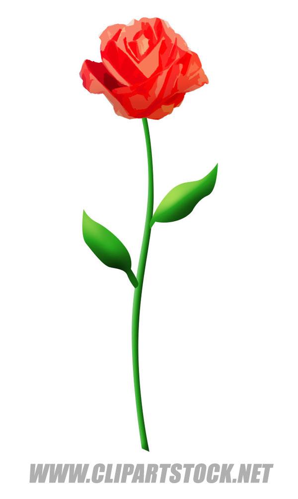 600x1006 Valentine Flowers Clip Art Valentine's Day Info