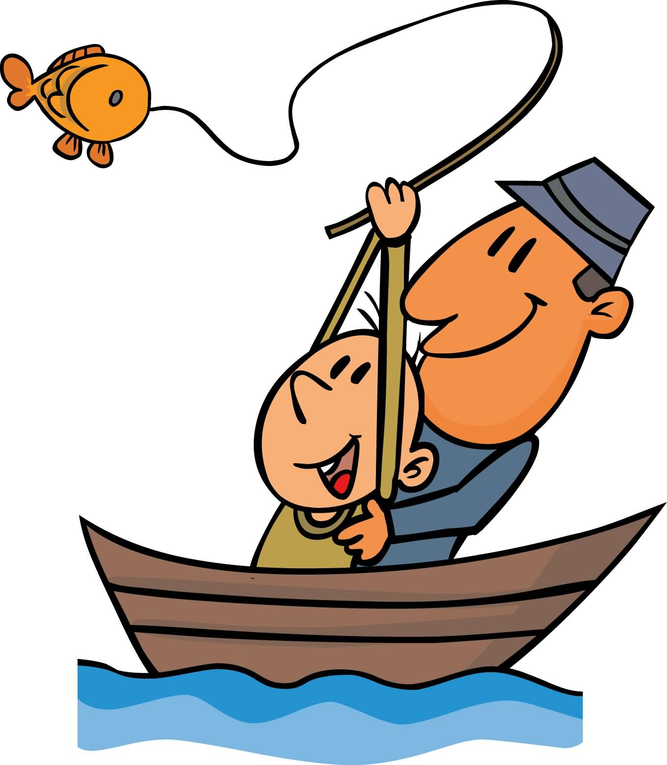 1359x1559 Cute Go Fishing Day Clip Art