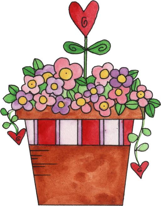 513x657 Valentine Flowers Clip Art Valentine Flower Bouquet Clipart 1