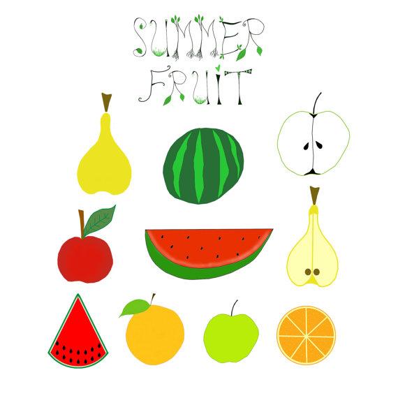 570x570 Fruit Clip Art, Summer Fruit Images, Apple Images, Watermelon