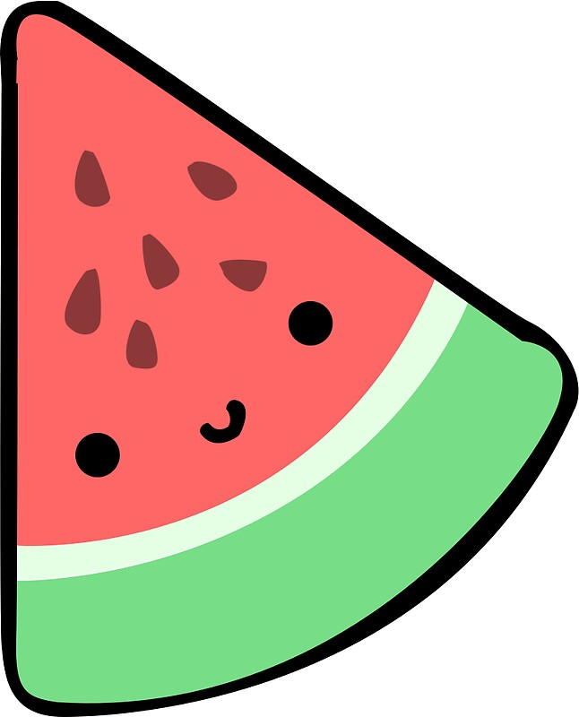 Cute Watermelon Clipart at GetDrawings.com   Free for ...