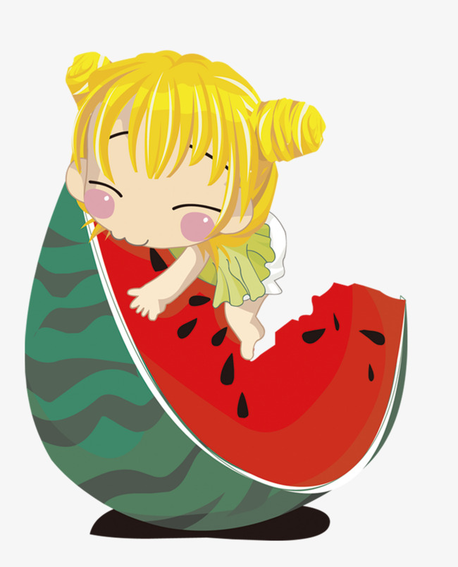 650x804 Cute Baby Eat Watermelon, Baby, Girl, Little Girl Png Image