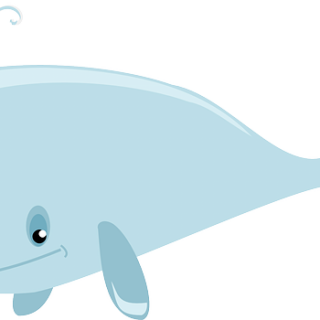 320x320 Cute Whale Clipart Clip Art