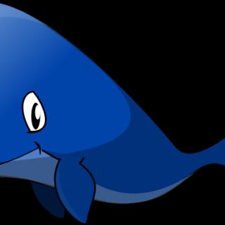 320x320 Whale Clipart Blue Clip Art Cute