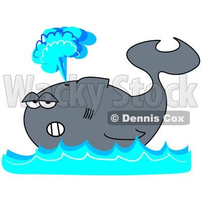 400x400 Whale Clipart Spray 4052617