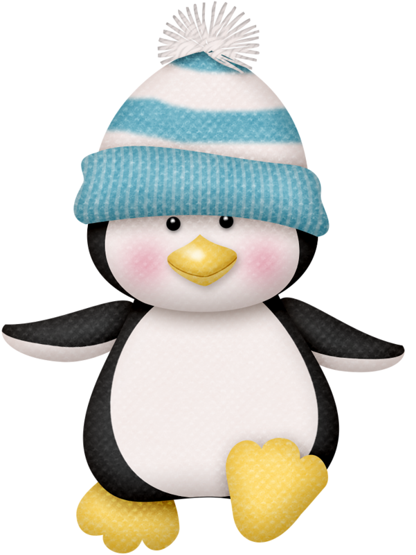 601x800 Lliella Winter1.png Clip Art, Penguins And Craft