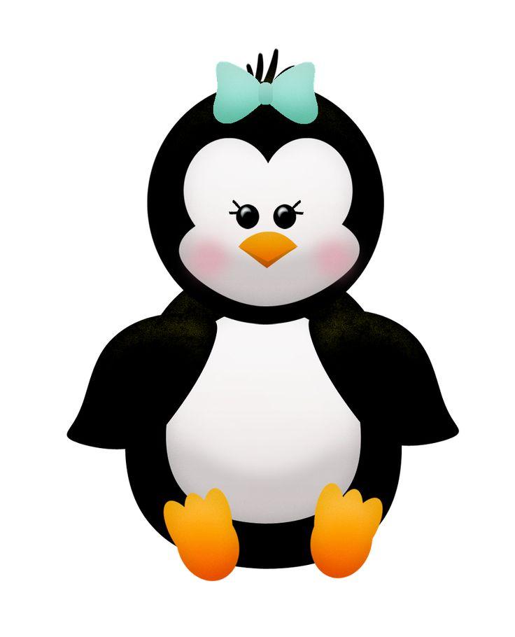 736x910 Christmas Penguin Clipart Group