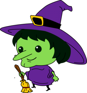 280x300 Cute Halloween Witch Clipart Special Day Celebrations