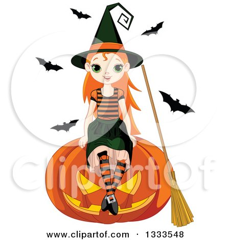 450x470 Royalty Free (Rf) Halloween Witch Clipart, Illustrations, Vector