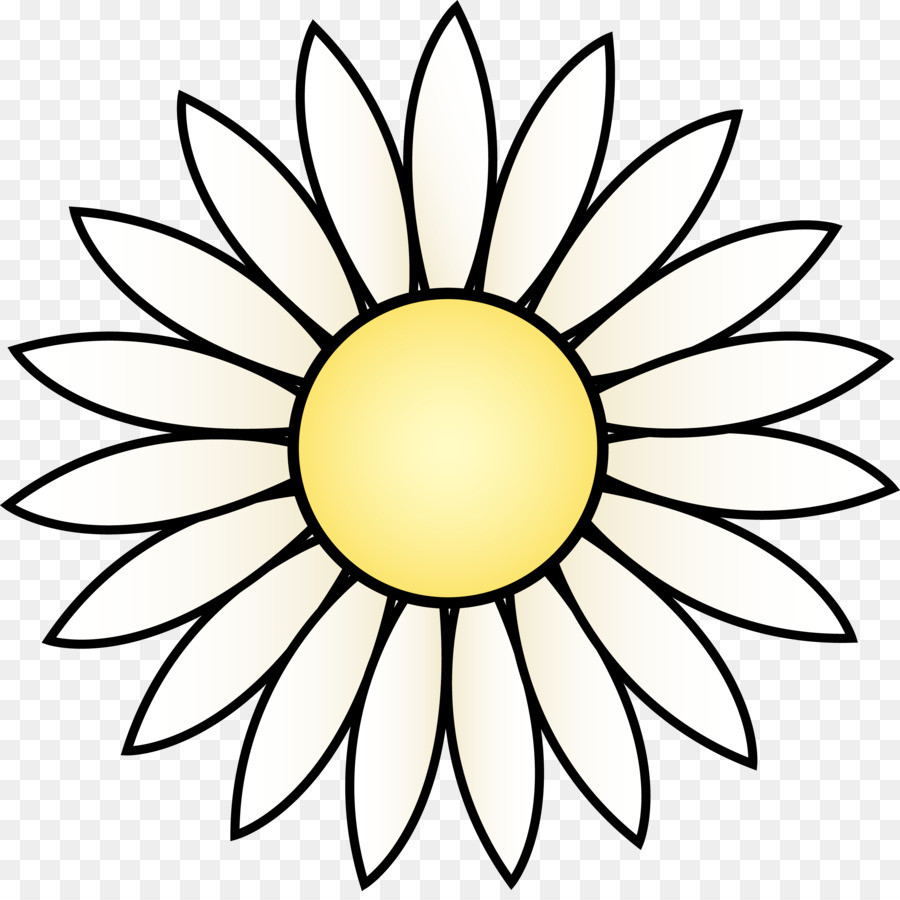 900x900 Common Sunflower Clip Art Cute Daisy Cliparts Png Download 4948