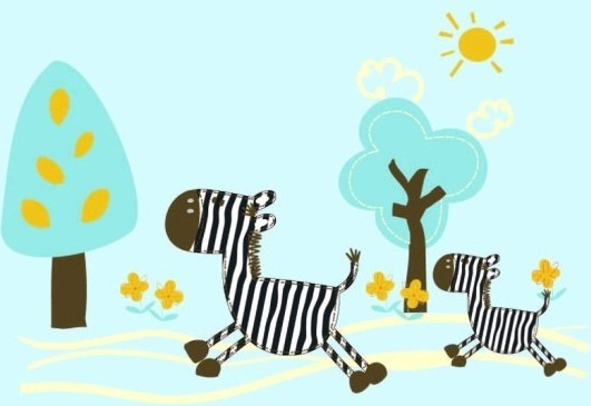 531x365 Zebra Free Vector Download (189 Free Vector) For Commercial Use