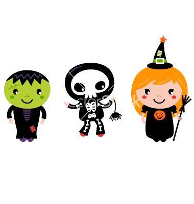 380x400 Cute Halloween Kids