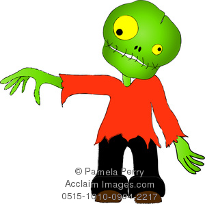 300x298 Cute Zombie Clipart Amp Stock Photography Acclaim Images