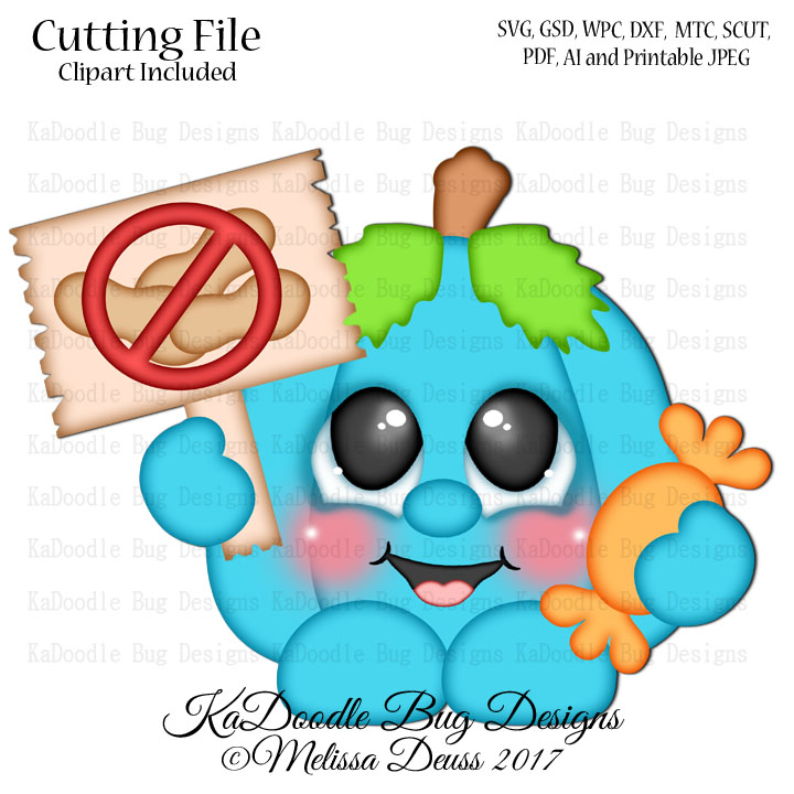 720x720 Halloween Kadoodle Bug Designs, Cut Files, Digi Stamps, Clip Art