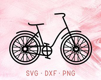 340x270 Bike Svg Cut File. Bicycle Clip Art Bike Icon Low Poly