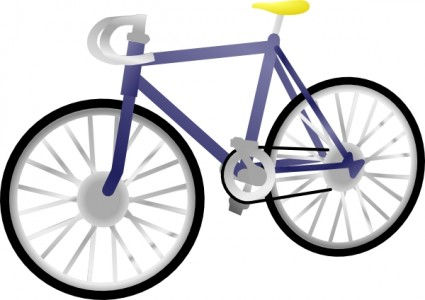 425x300 Colorful Bicycle Cliparts