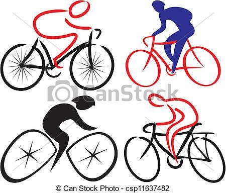 450x384 Cyclist, Bicyclist