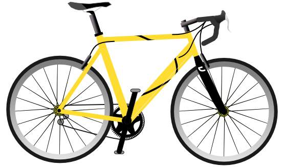 555x326 Free Bicycle Clip Art Pictures