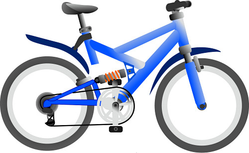 500x307 Bicycle Clipart Clipart Panda