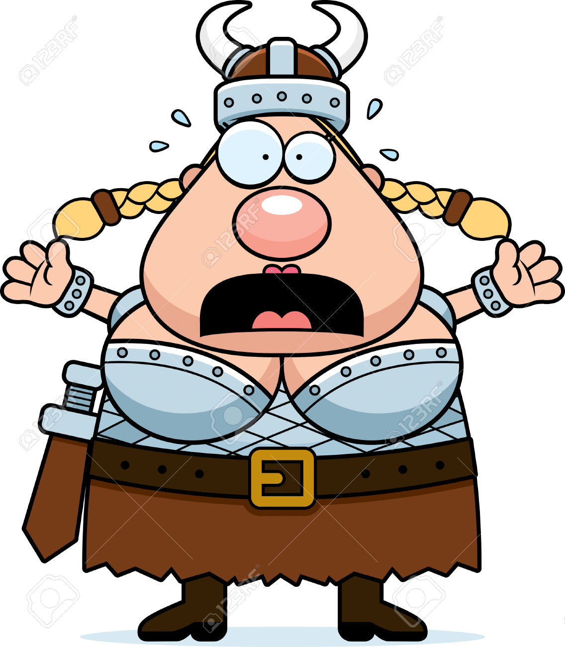 1136x1300 Viking Clipart Scared