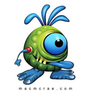 300x300 Cyclops Monster Standing Clip Art Scrap Monsters