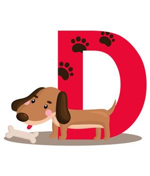300x350 Dachshund Dog Clipart