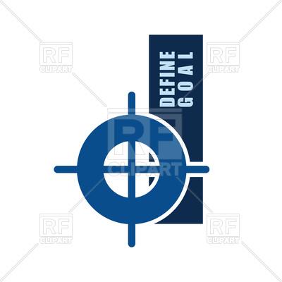 400x400 Define Goal Target Symbol