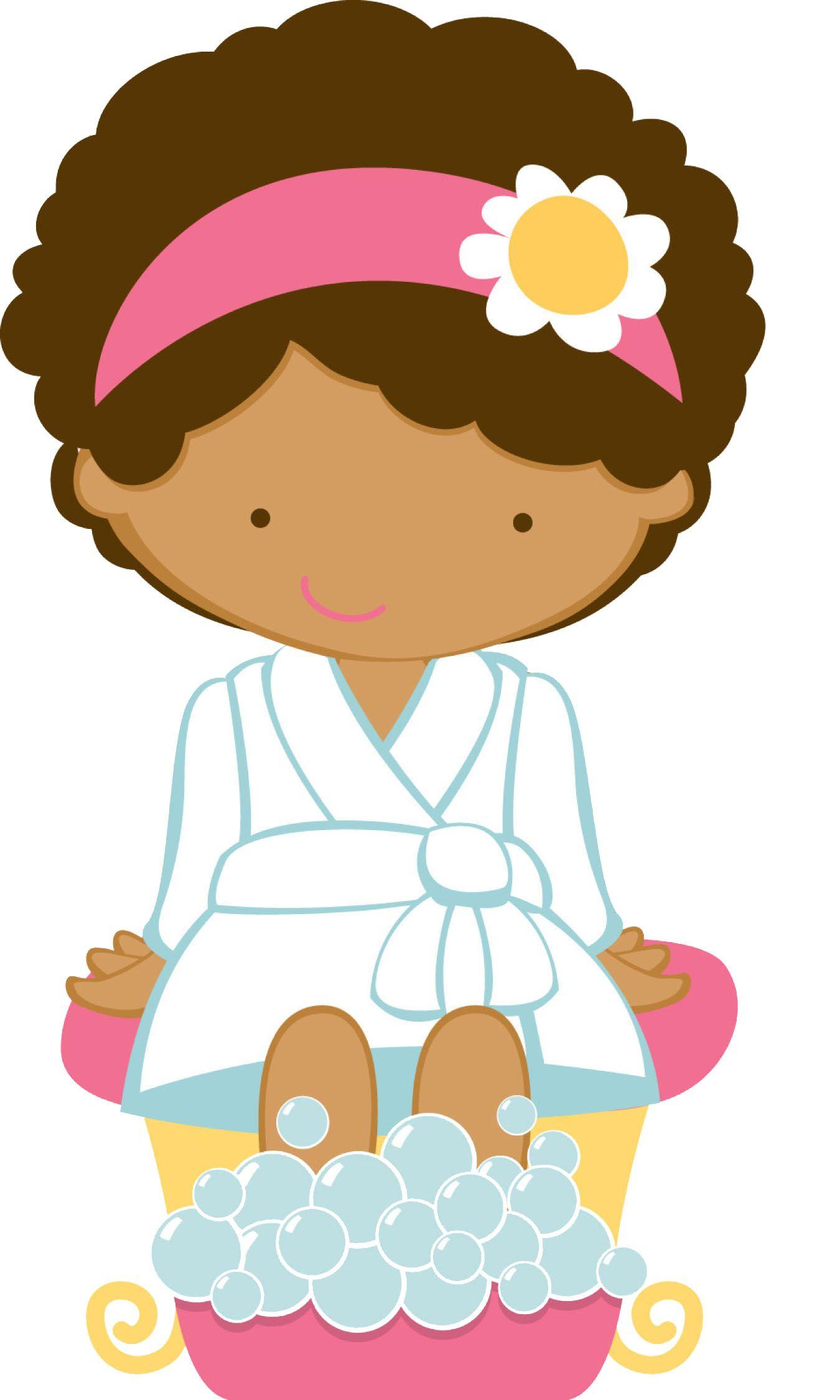 1350x2250 Day Spa Girl Clip Art File Name Spa%20girl.jpg Resolution