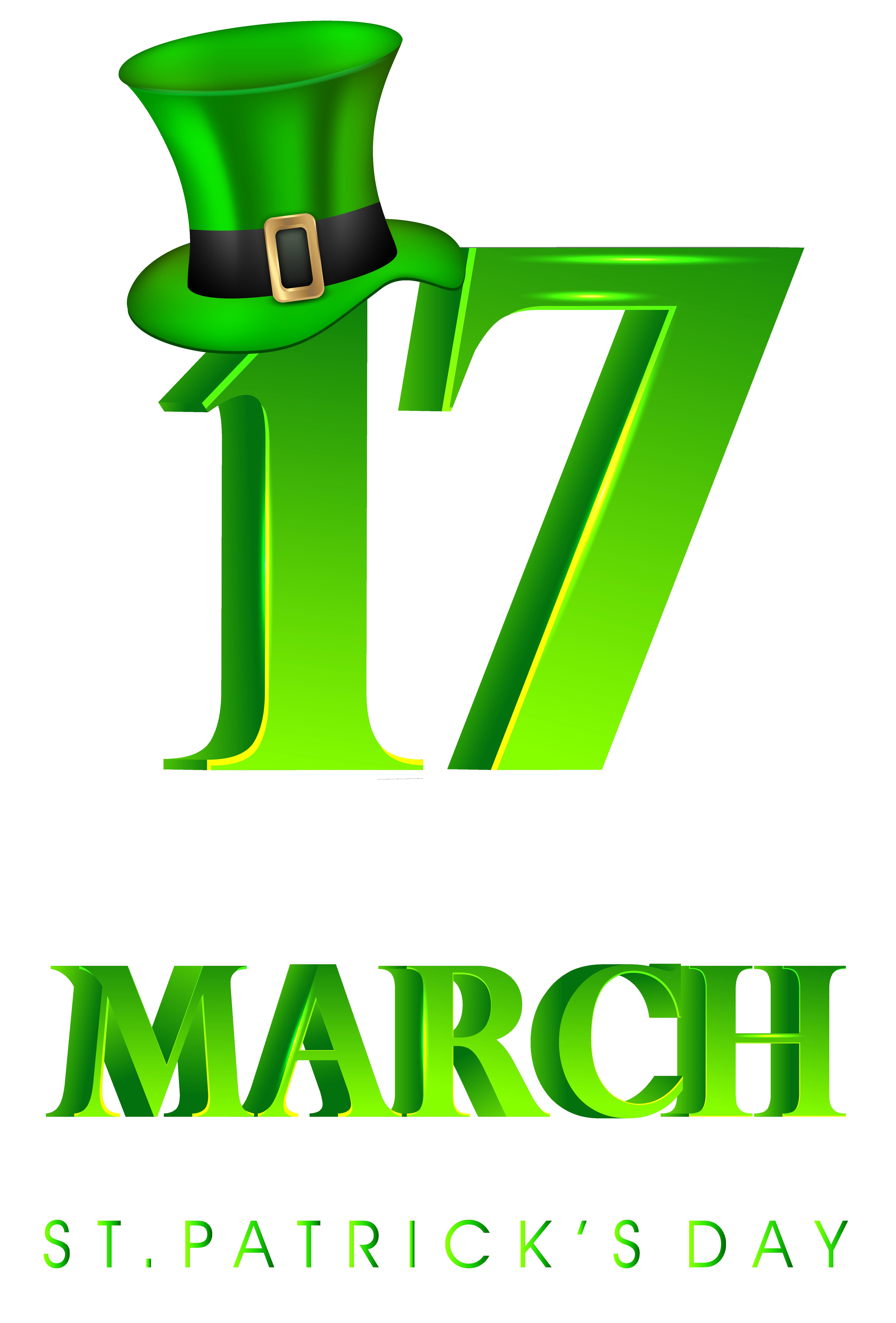 5091x7512 17 March St Patricks Day Transparent Png Clip Art Imageu200b Gallery