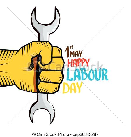 450x470 Happy May Day Clip Art 1 May Labour Day Vector Labour Day Poster