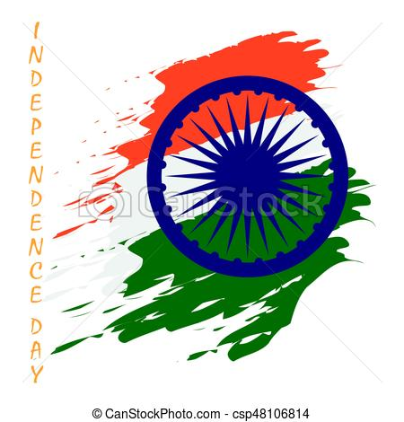 450x470 Happy Independence Day. Happy Indian Independence Day Vector