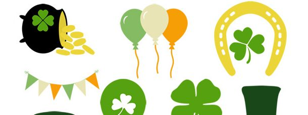 610x229 25 St. Patrick's Day Clipart Collection
