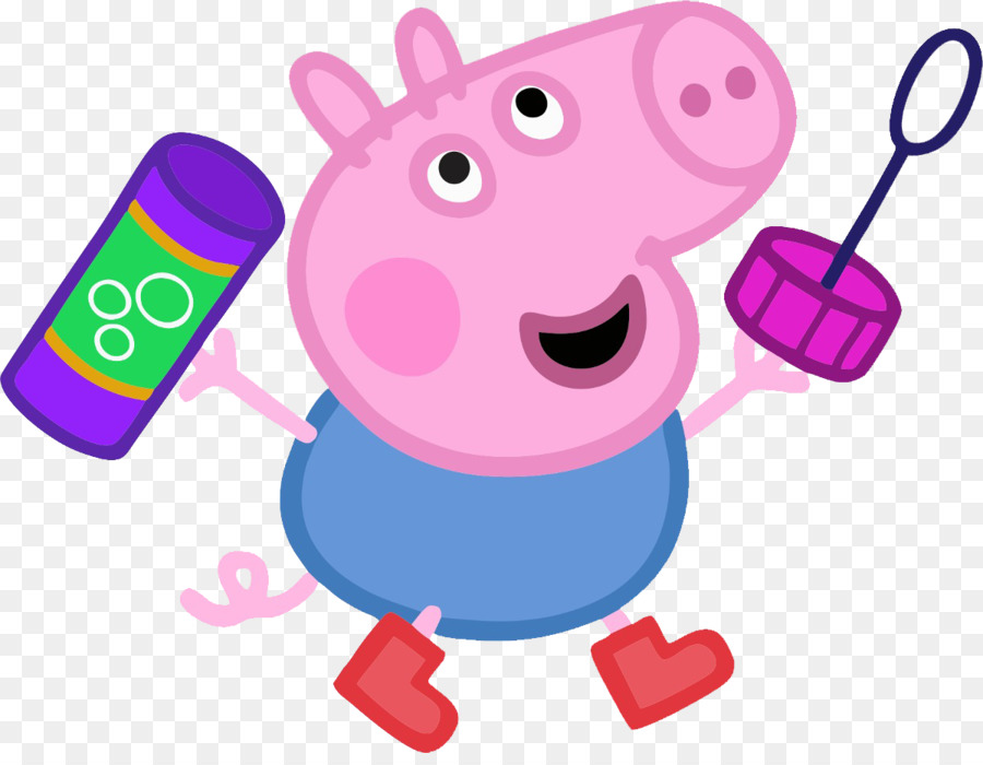 900x700 Daddy Pig Muddy Puddles Clip Art